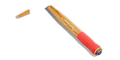 折れたペン軸