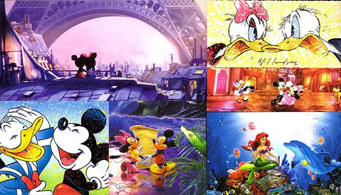 ディズニーのイラスト画像