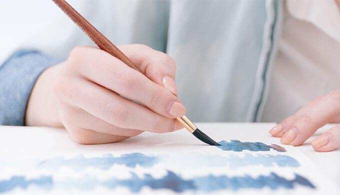 水彩画を始めるタイトル画像