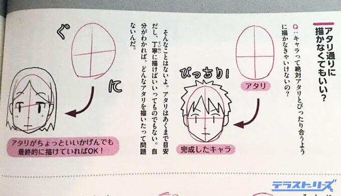正面顔の描き方Q&A