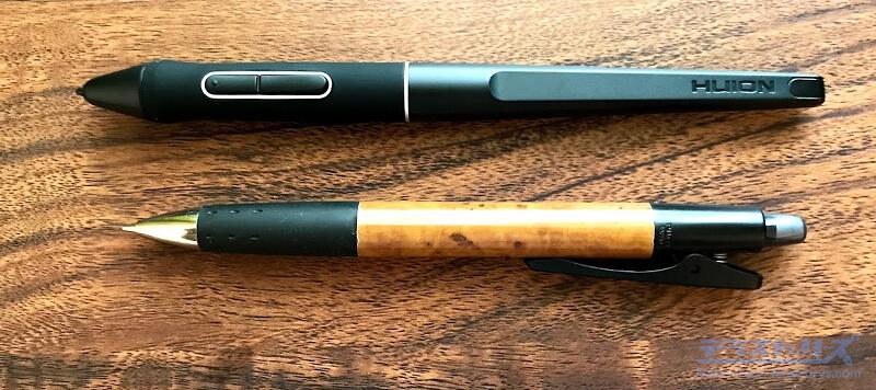 kamvas Pro16 plus4Kのペン