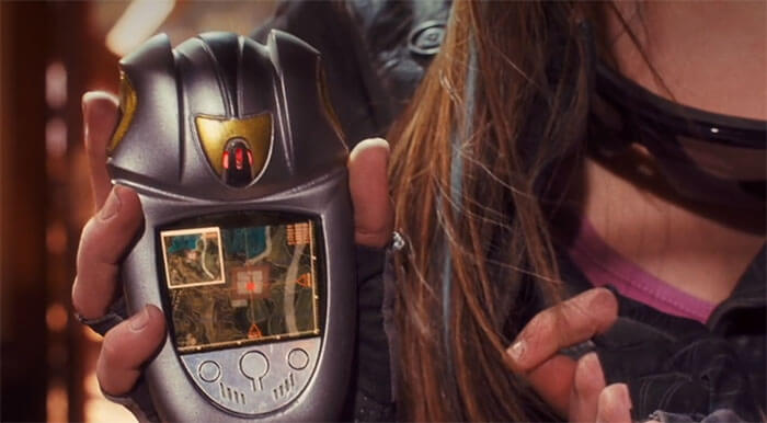 実写映画のドラゴンレーダー