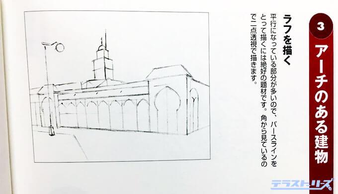背景を描く手順
