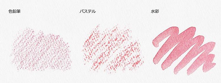 水彩紙のテスト