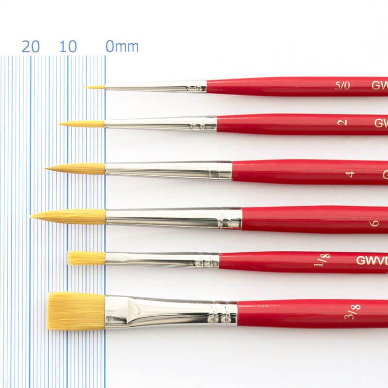 水彩筆6セット