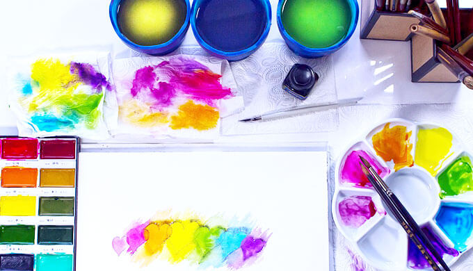 水彩画のはじめ方