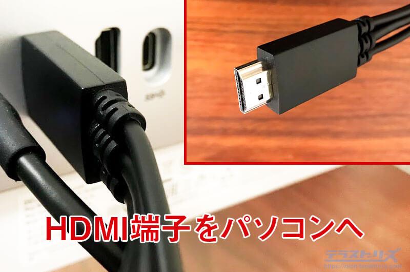 artist13proのHDMI端子